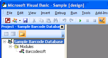 GS1-Databar Access VBA