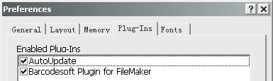 filemaker barcode plugin