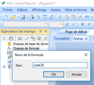 code25 barcode create formule crystal reports